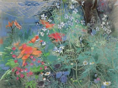 Summer Garden-Claire Spencer-Giclee Print