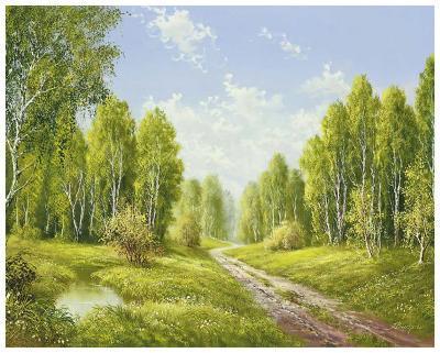 Summer Glow-H^ Buchner-Art Print
