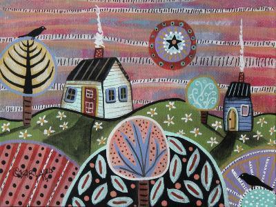 Summer Glow-Karla Gerard-Giclee Print