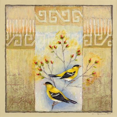 Summer Goldfinches-Rachel Paxton-Giclee Print