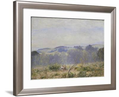 Summer Haze in Sussex-Sir David Murray-Framed Giclee Print