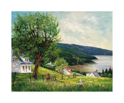 Summer in Charlevoix-Georges Dedoyard-Art Print