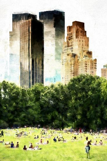 Summer in New York-Philippe Hugonnard-Giclee Print