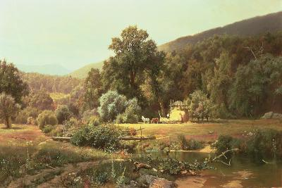 Summer in the Blue Ridge, 1874-Hugh Bolton Jones-Giclee Print