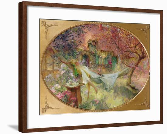 Summer in the Garden-Henri-Gaston Darien-Framed Giclee Print