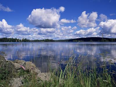Summer, Lake at Ramen, North of Filipstad, Eastern Varmland, Sweden, Scandinavia-Richard Ashworth-Photographic Print