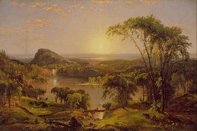 Summer, Lake Ontario, 1857-Jasper Francis Cropsey-Giclee Print