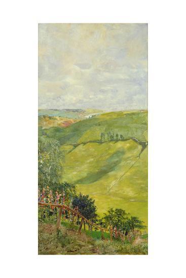 Summer Landscape, 1884-85-Max Klinger-Giclee Print