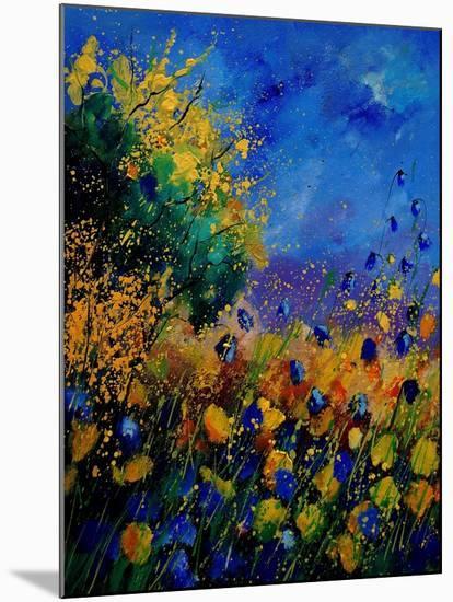 Summer Landscape 459090-Pol Ledent-Mounted Art Print