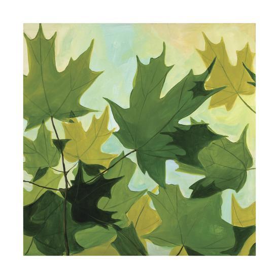 Summer Leaves-Catherine Breer-Giclee Print