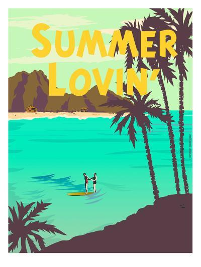 Summer Lovin'-Diego Patino-Art Print