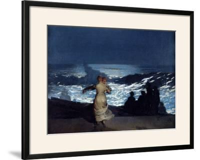 Winslow Homer Old Settlers Giclee Canvas Print  Poster