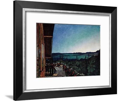 Summer Night-Harald Sohlberg-Framed Giclee Print
