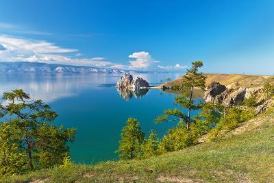 Summer on Lake Baikal. Sunny Day on Olkhon Island-katvic-Photographic Print