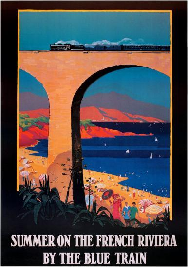 Summer on the French Riviera--Art Print