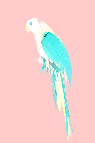 Summer Parrot-Robert Farkas-Giclee Print