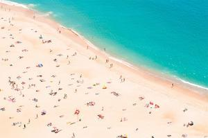 Aerial Beach by Summer Photography