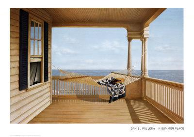 Summer Place-Daniel Pollera-Art Print
