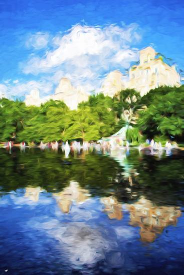 Summer Reflections - In the Style of Oil Painting-Philippe Hugonnard-Giclee Print