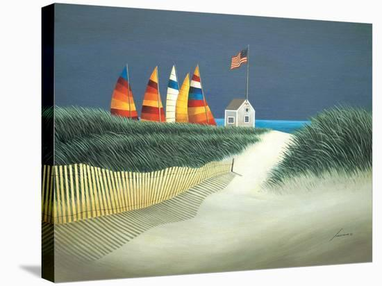 Summer Rentals-Lowell Herrero-Stretched Canvas Print