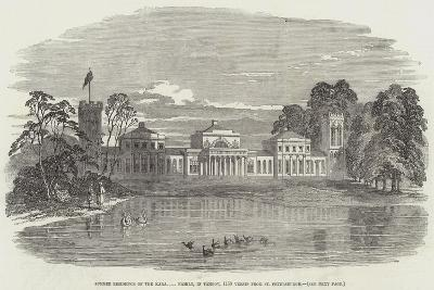 Summer Residence of the Kara Family, in Tambov, 1150 Versts from St Petersburgh--Giclee Print