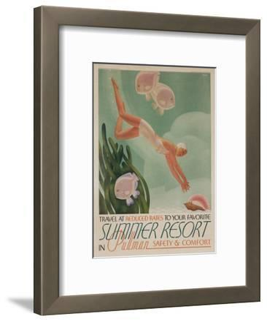 Summer Resort Travel Poster