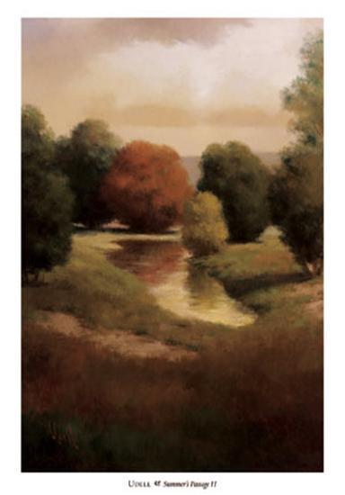 Summer's Passage II-Udell-Art Print