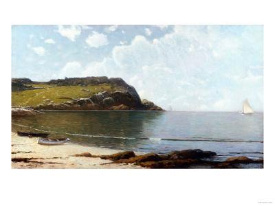 Summer Sailing-Thomas Birch-Giclee Print