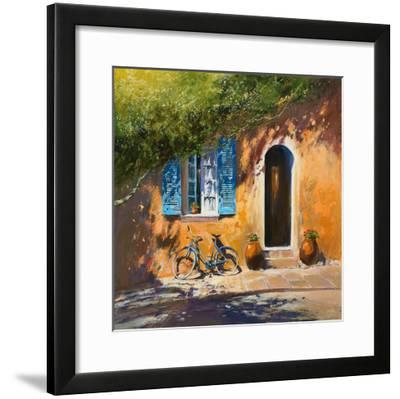 Summer Shadow-Michael J^ Sanders-Framed Giclee Print