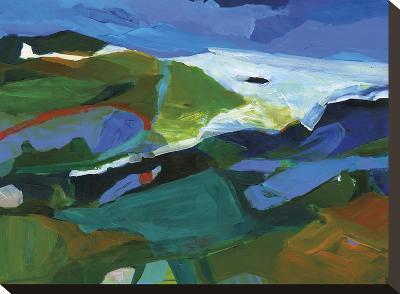 Summer Shores 3-Barbara Rainforth-Stretched Canvas Print