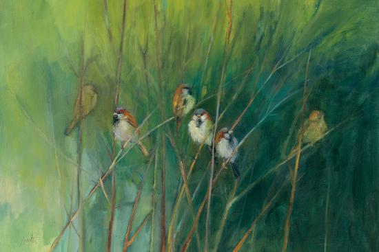 Summer Sparrows-Ellen Granter-Art Print