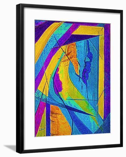 Summer Storm Series #2-Ruth Palmer Digital-Framed Art Print