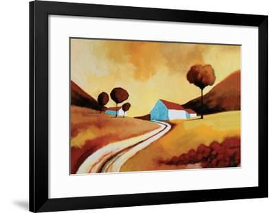 Summer Sunset-Derek Melville-Framed Giclee Print