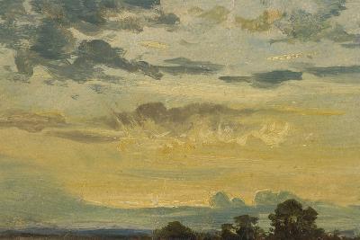 Summer Sunset-John Constable-Giclee Print
