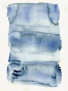 Abstract Blue Watercolor by Summer Tali Hilty