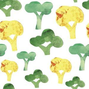 Vegetable Pattern 3 by Summer Tali Hilty