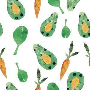 Vegetable Pattern 5 by Summer Tali Hilty