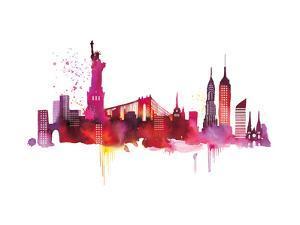 New York Skyline by Summer Thornton