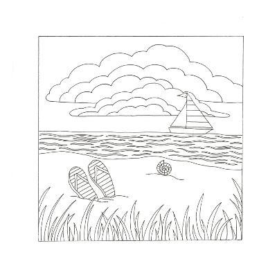 Summer Time Fun-Pam Varacek-Art Print