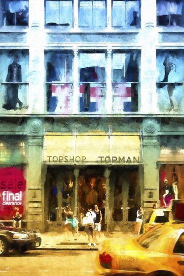 Summer Top Man-Philippe Hugonnard-Giclee Print