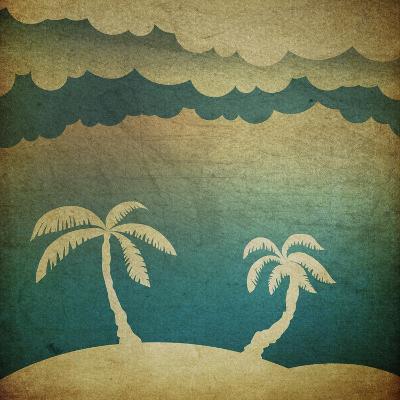 Summer Travel Concept Background-pashabo-Art Print