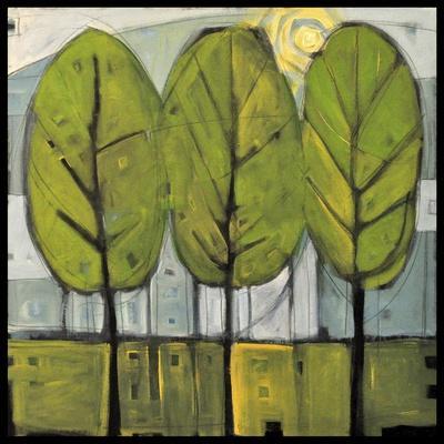 Summer Trees-Tim Nyberg-Premium Giclee Print