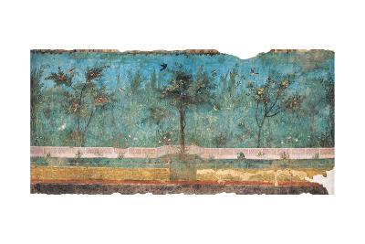 Summer Triclinium: Garden Paintings, 20, 1st Century, Mural--Giclee Print