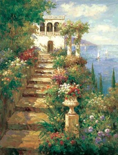 Summer Vista-Peter Bell-Art Print