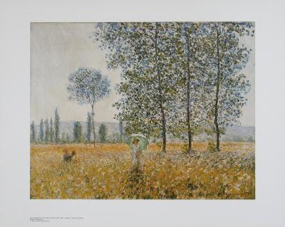 Summer-Claude Monet-Art Print