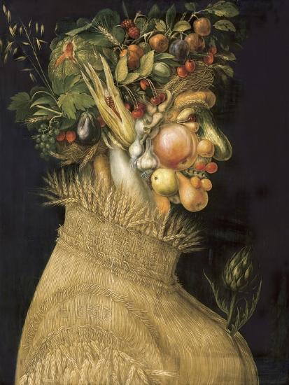 Summer-Giuseppe Arcimboldo-Art Print