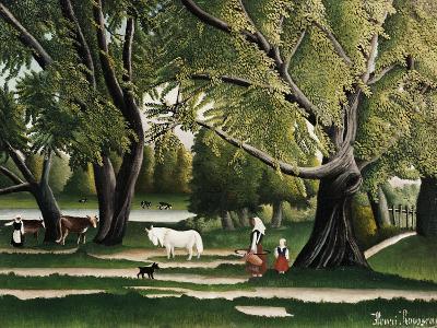 Summer-Henri Rousseau-Giclee Print
