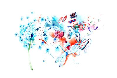 Summer-okalinichenko-Art Print