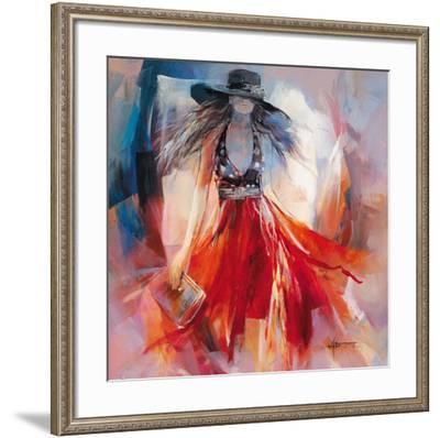 Summerdress I-Willem Haenraets-Framed Art Print