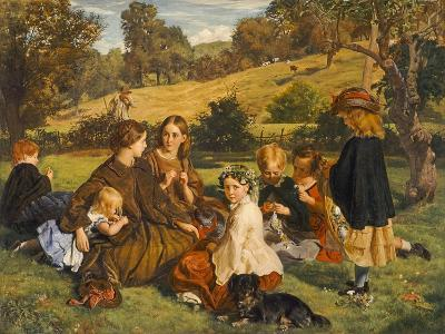Summertime, Gloucestershire, Exh.1860-James Archer-Giclee Print